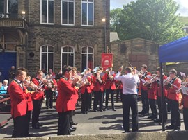 Senior Band, Whit Friday Marches 2017